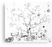 Balloon Tree Canvas Print