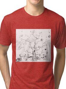 Balloon Tree Tri-blend T-Shirt