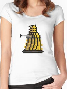 """""""Exterminate!  Exterminate!"""" Women's Fitted Scoop T-Shirt"""