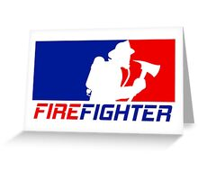 Professional Firefighting League Greeting Card