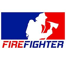 Professional Firefighting League Photographic Print