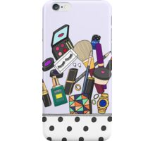 What's in your pouch iPhone Case/Skin