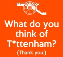 Arsenal - What do you think of T*ttenham? by humming-bear