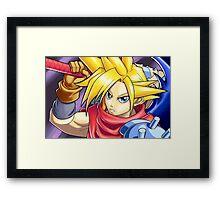 Final Fantasy - Kingdom Hearts - Cloud Strife Framed Print