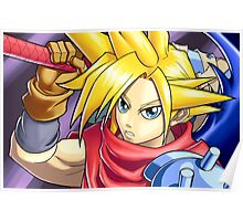 Final Fantasy - Kingdom Hearts - Cloud Strife Poster