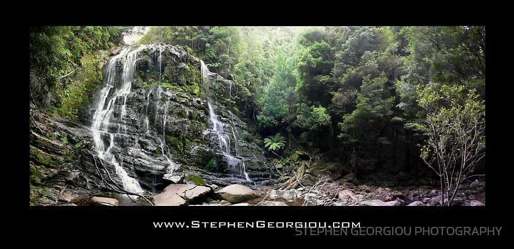 Nelson Falls Tasmania by STEPHEN GEORGIOU PHOTOGRAPHY