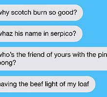 Texts From Jake Peralta by IvyAndBeau