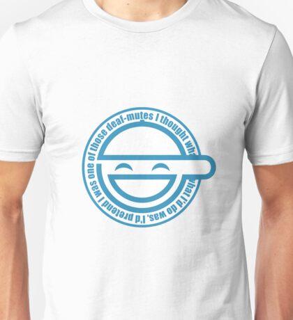 Laughing Man Unisex T-Shirt