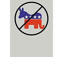 Anti Two Party System Photographic Print