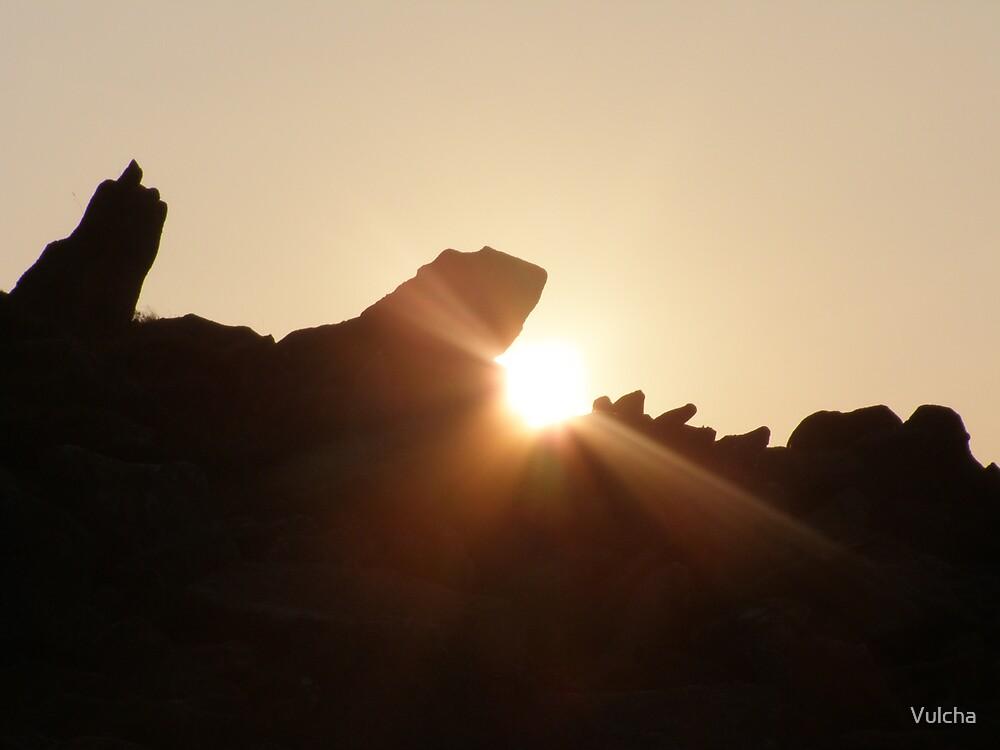 Sunset. by Vulcha