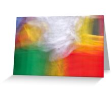 Abstract memories... Greeting Card