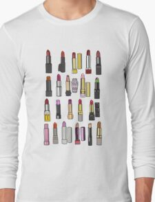 Your favorite lipstick collection Long Sleeve T-Shirt