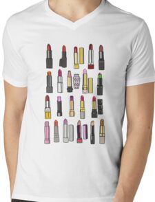 Your favorite lipstick collection Mens V-Neck T-Shirt