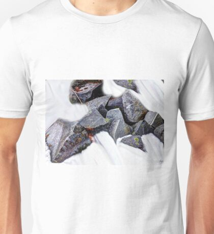 Granite in a Snowfield Unisex T-Shirt