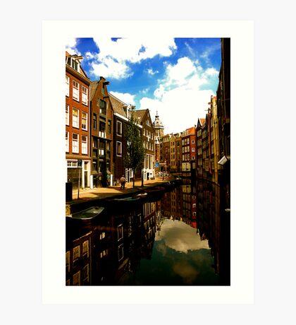Amsterdam-Old & Dutch Art Print