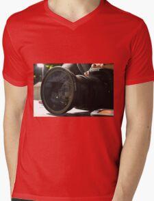 Canon Camera Mens V-Neck T-Shirt