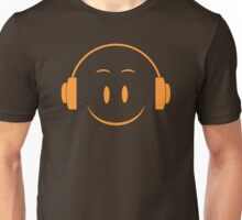 Orange Smile Symbol Unisex T-Shirt