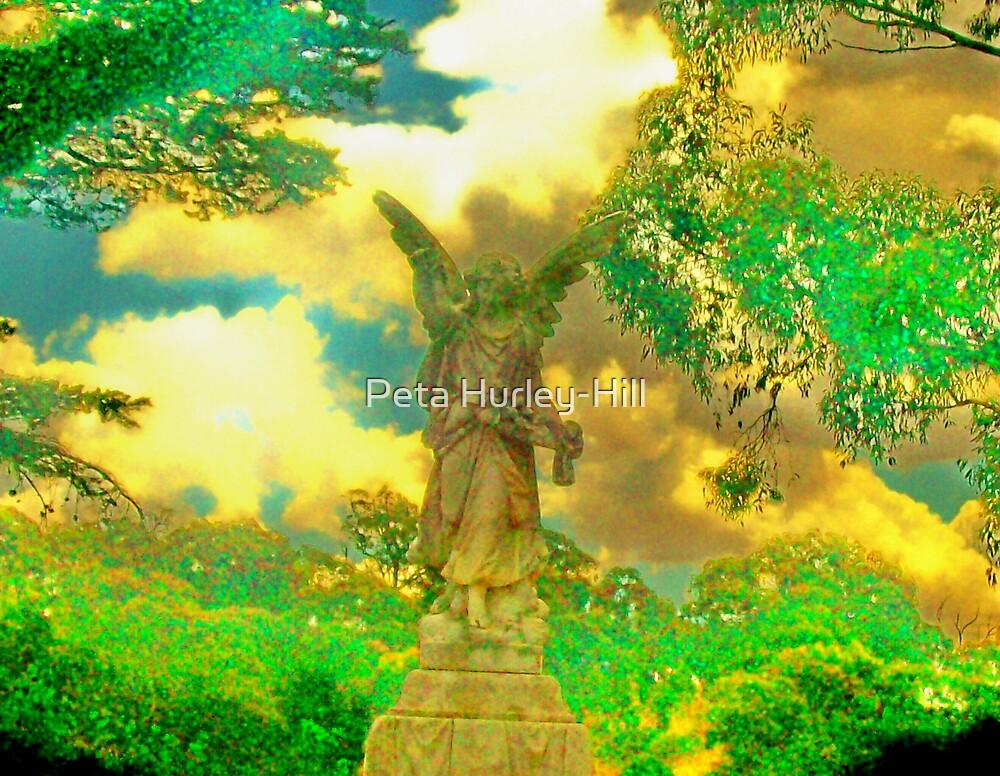 green angel by Peta Hurley-Hill