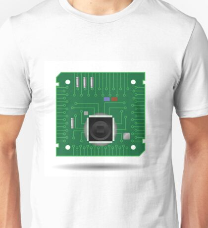 Computer circuit board Unisex T-Shirt