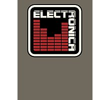 Electronica Red Meter Photographic Print