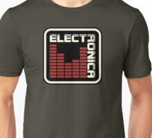 Electronica Red Meter Unisex T-Shirt