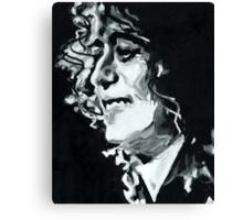 Jimmy Page - Magic Riff Mastermind Canvas Print