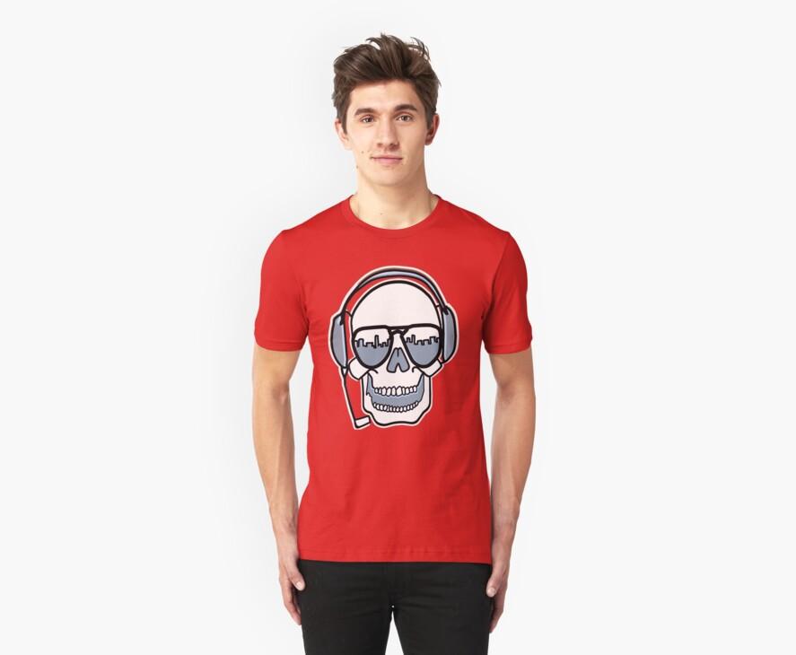 skull t-shirt by parko