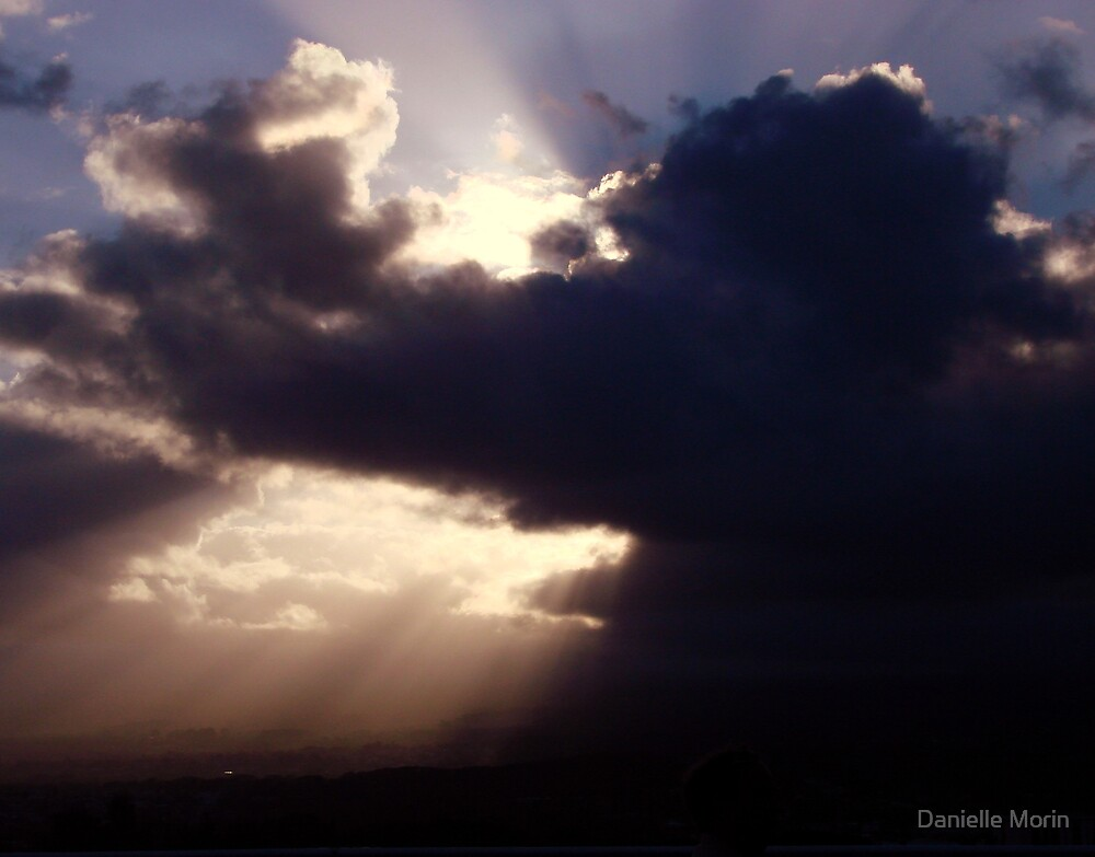 Clouds in Hawaii by Danielle Morin