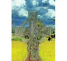 celtic cross 3 Photographic Print