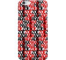Max Ada Zoe tessellation (Amazed) iPhone Case/Skin