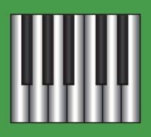 Metal Synth Keyboard  Baby Tee