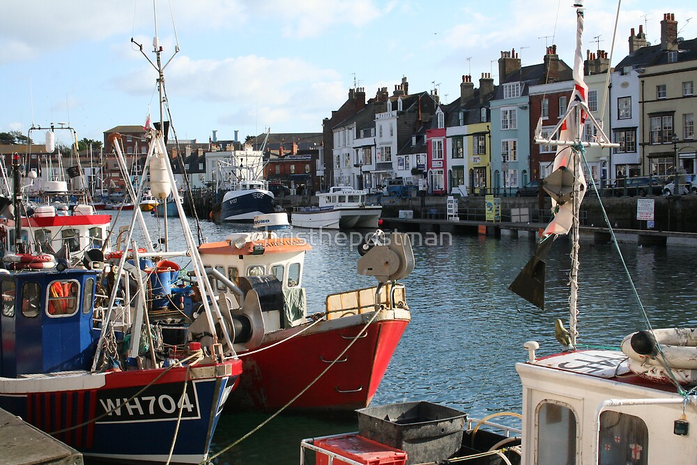 weymouth harbour by christhepostman