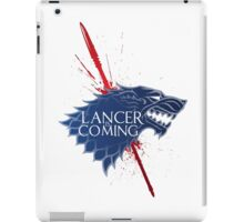 Lancer is Coming ~Cu Chulainn iPad Case/Skin