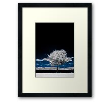 The Sky Is Broken Framed Print