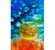 The Birth of Bubbles Photographic Print