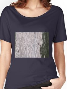Grunge old Wood background Women's Relaxed Fit T-Shirt