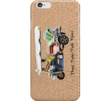 Thai Tuk-Tuk Taxi iPhone Case/Skin