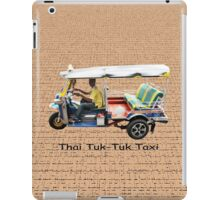Thai Tuk-Tuk Taxi iPad Case/Skin