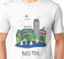 City Art Boston  Unisex T-Shirt