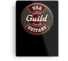 USA Guild Vintage Metal Print