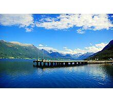 Aandalsnes Fjord Photographic Print