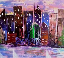 """""""Cityscape"""" by Trudie Ann Moore"""