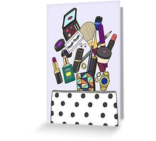 What's in your pouch Greeting Card