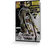 Magic The Gathering Funny Goblin Tokens Greeting Card