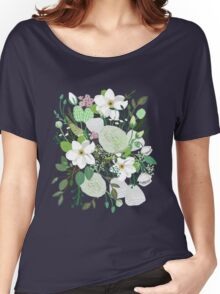 Floral Forest Women's Relaxed Fit T-Shirt