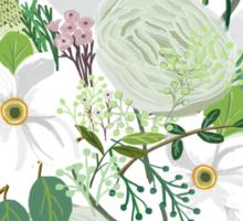 Floral Forest Sticker
