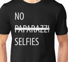 No Selfies Unisex T-Shirt
