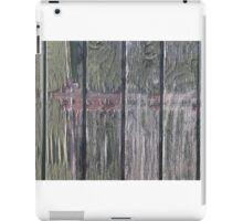 Grunge old wood background iPad Case/Skin
