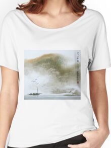 Misty Boat Women's Relaxed Fit T-Shirt