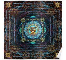 Ganesha - Removes obstacles - Om Gam Ganapataye Namah Poster
